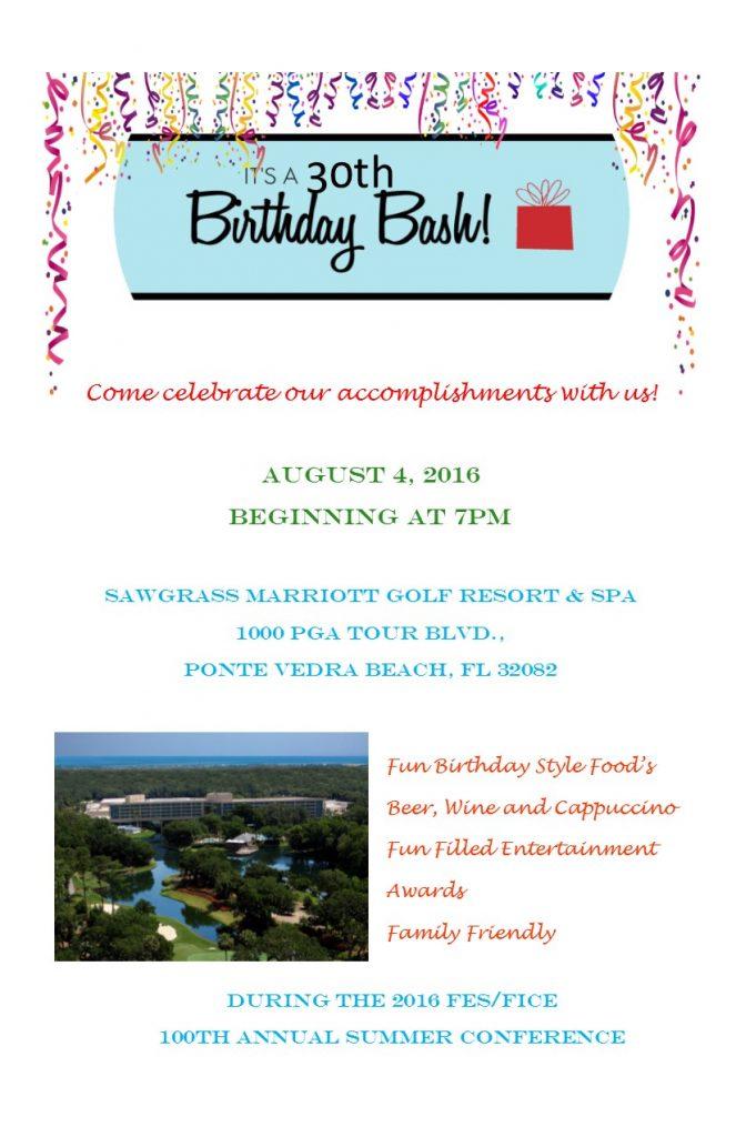 Birthday Bash Invitation